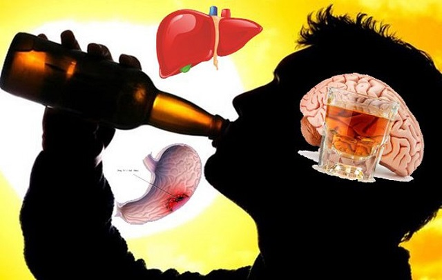 Rượu bia có tác hại như thế nào đối với cơ thể?