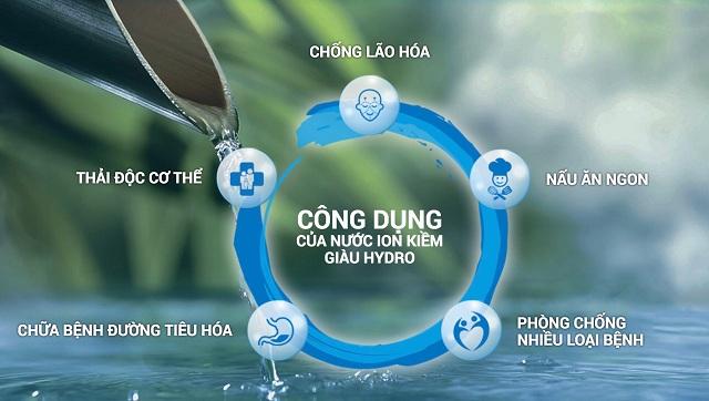 nước điện giải có 4 đặc tính ưu việt