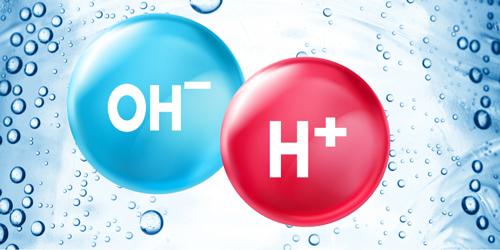 ion H+ và OH- trong nước alkaline