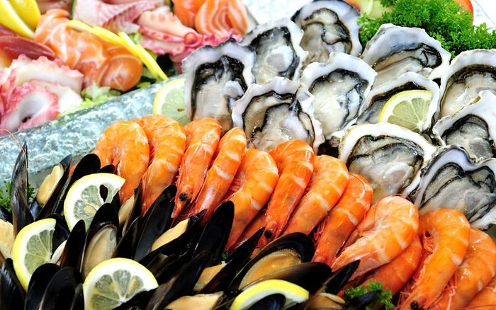 nên ăn nhiều hải sản để bổ thận
