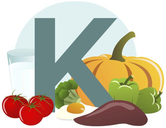 thuc pham giau vitamin k