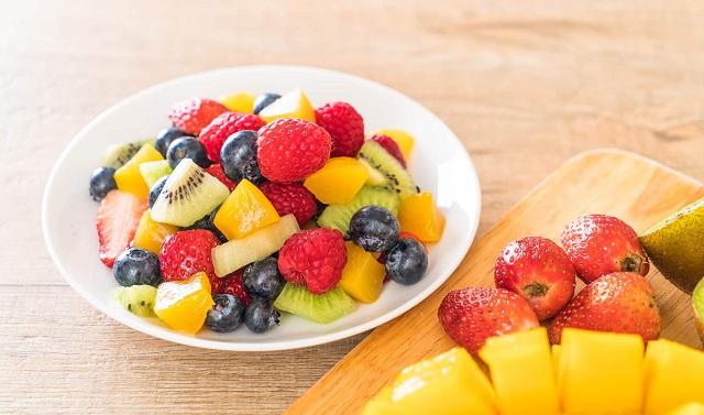 Trái cây cung cấp chất xơ và vitamin rất tốt cho người bệnh