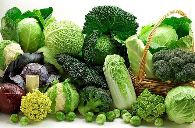 Các loại rau xanh đậm có tác dụng loại bỏ estrogen độc hại