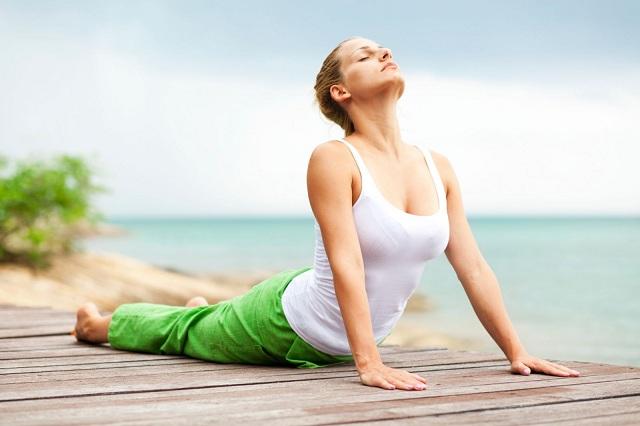 Tập yoga có thể giúp bạn cải thiện nội tiết tố nữ