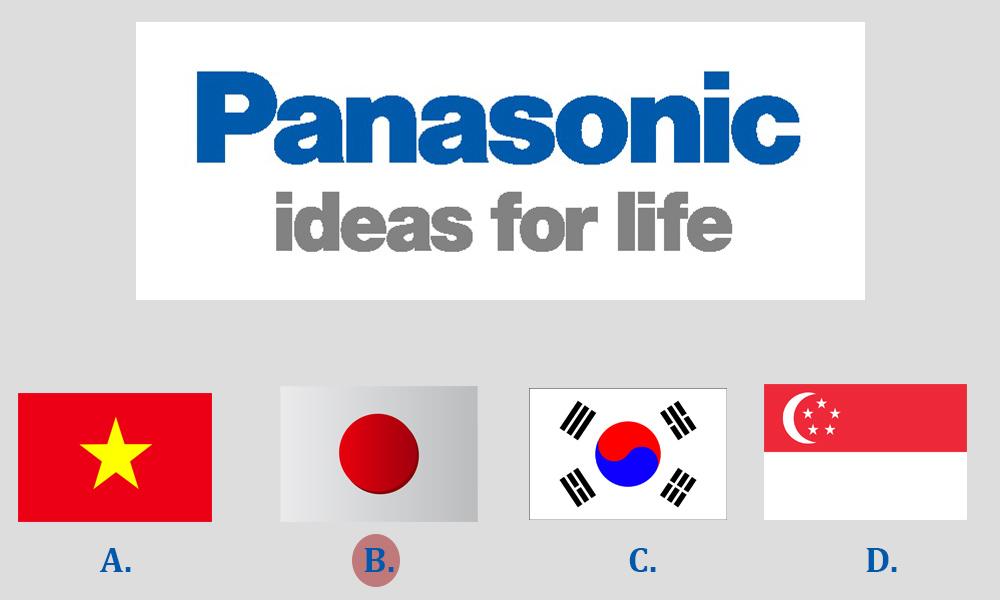 Panasonic là của nước nào?- JWATER