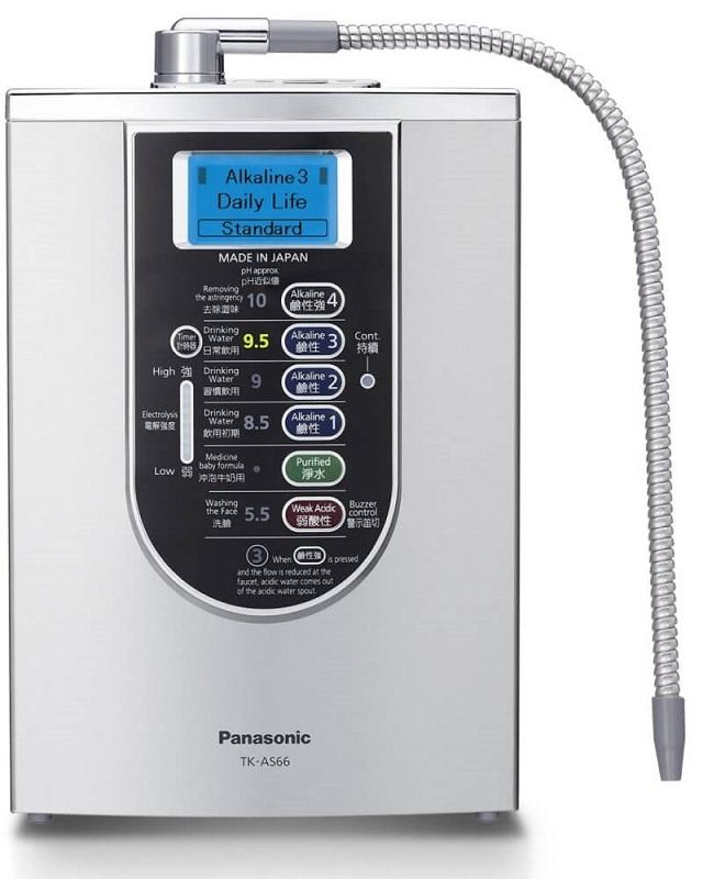 Uống nước ion kiềm tươi trực tiếp từ máy điện giải Panasonic AS-V66 mang lại nhiều lợi ích cho sức khỏe