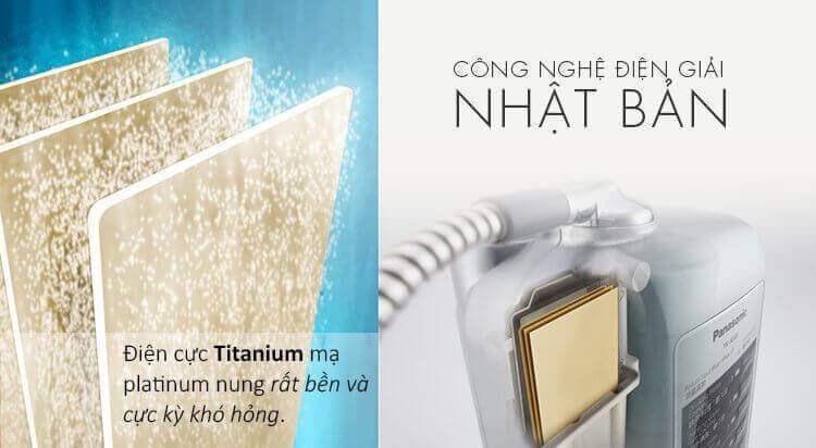 Máy lọc nước ion kiềm Panasonic và nguyên lý hoạt động