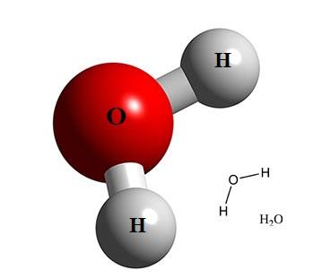 hình ảnh phân tử nước