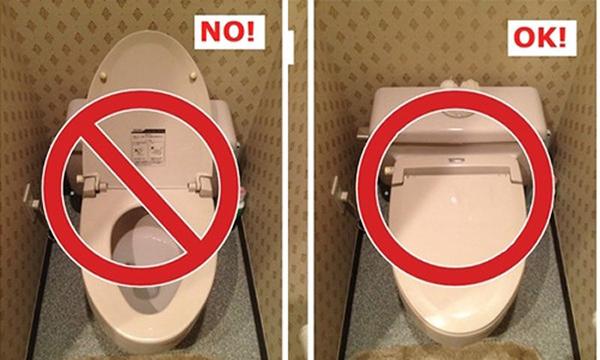 7 cách sử dụng nhà vệ sinh công công an toàn!