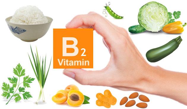 các loại rau củ có chưa vitamin b2