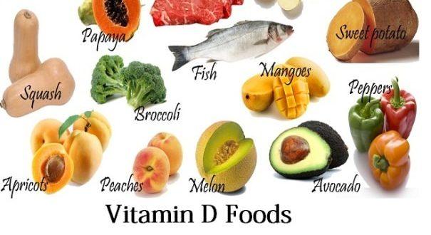 các thực phẩm bổ sung vitamin D
