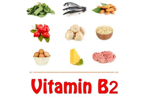 hàm lượng vitamin b2 có trong thực phẩm hàng ngày