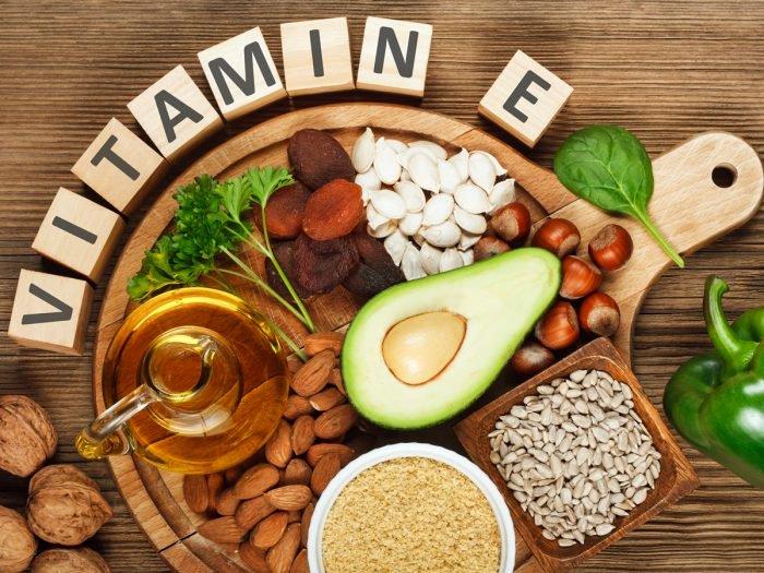 thực phẩm chứa nhiểu vitamin e
